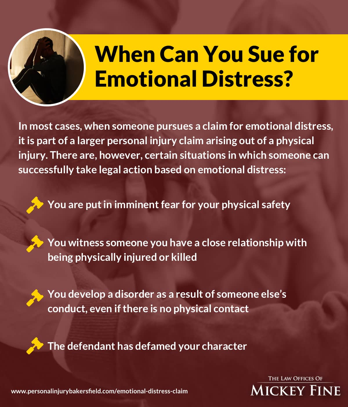 When Can You Sue for Emotional Distress?
