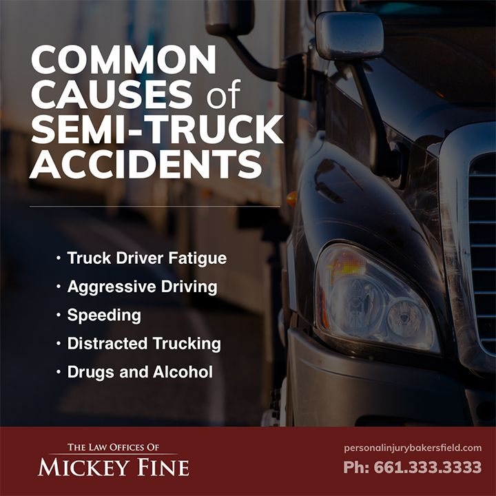 Common Causes Truck Accidents